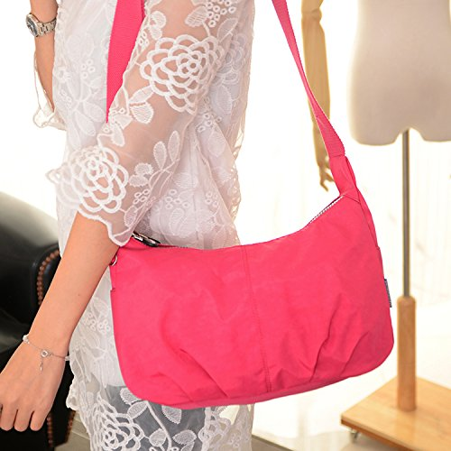 Cross Bag for Shoulder Satchel Outreo Waterproof Black Messenger Bag Side Body Bag Bag Lightweight Small Fashion Ladies Women Xqpw07BC
