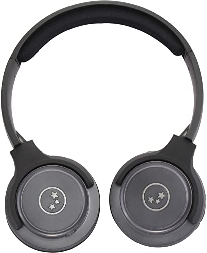 Able Planet SH180GMM Musicians Choice Stereo On-Ear Headphones Metallic Gray