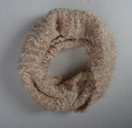 (Charter Club Women's Chenille Infinity Loop Scarf,One Size (Beige/Khaki))