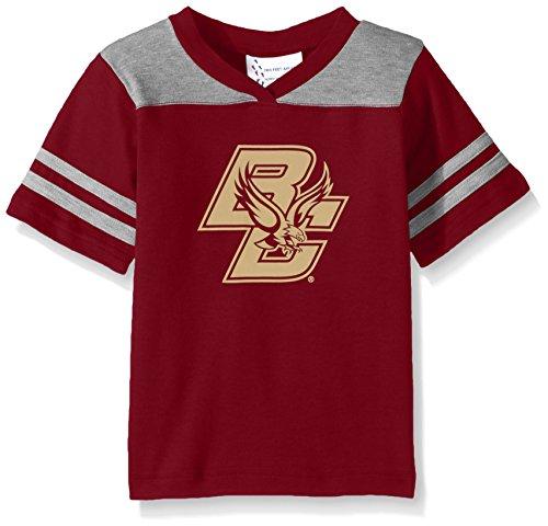 NCAA Boston College Eagles Toddler Boys Football Shirt, Crimson, 3