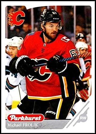 d0e856402 2018-19 Upper Deck Parkhurst Silver  242 Michael Frolik Calgary Flames  Official NHL Hockey