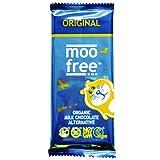 Moo Free Organic Dairy Free Chocolate Bar 100 g (Pack of 4)