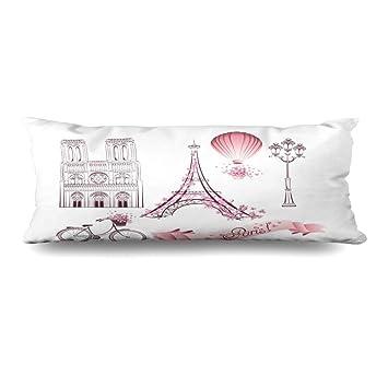 Amazon.com: Ahawoso - Funda de almohada con cremallera para ...