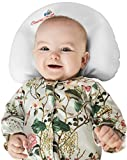 Baby Pillow for Newborns to prevent flat head syndrome (Plagiocephaly)and rolling over. Made of Viscose Memory Foam and comes with 2 Bamboo Pillowcases. Perfect Shower Gift. Bonus Sleep Guide eBook