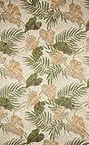 Liora Manne Ravella Tropical Leaf Rug, Indoor/Outdoor, 24-Inch by 36-Inch, Neutral