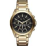 Armani Exchange Men's Dress Gold Watch AX2611