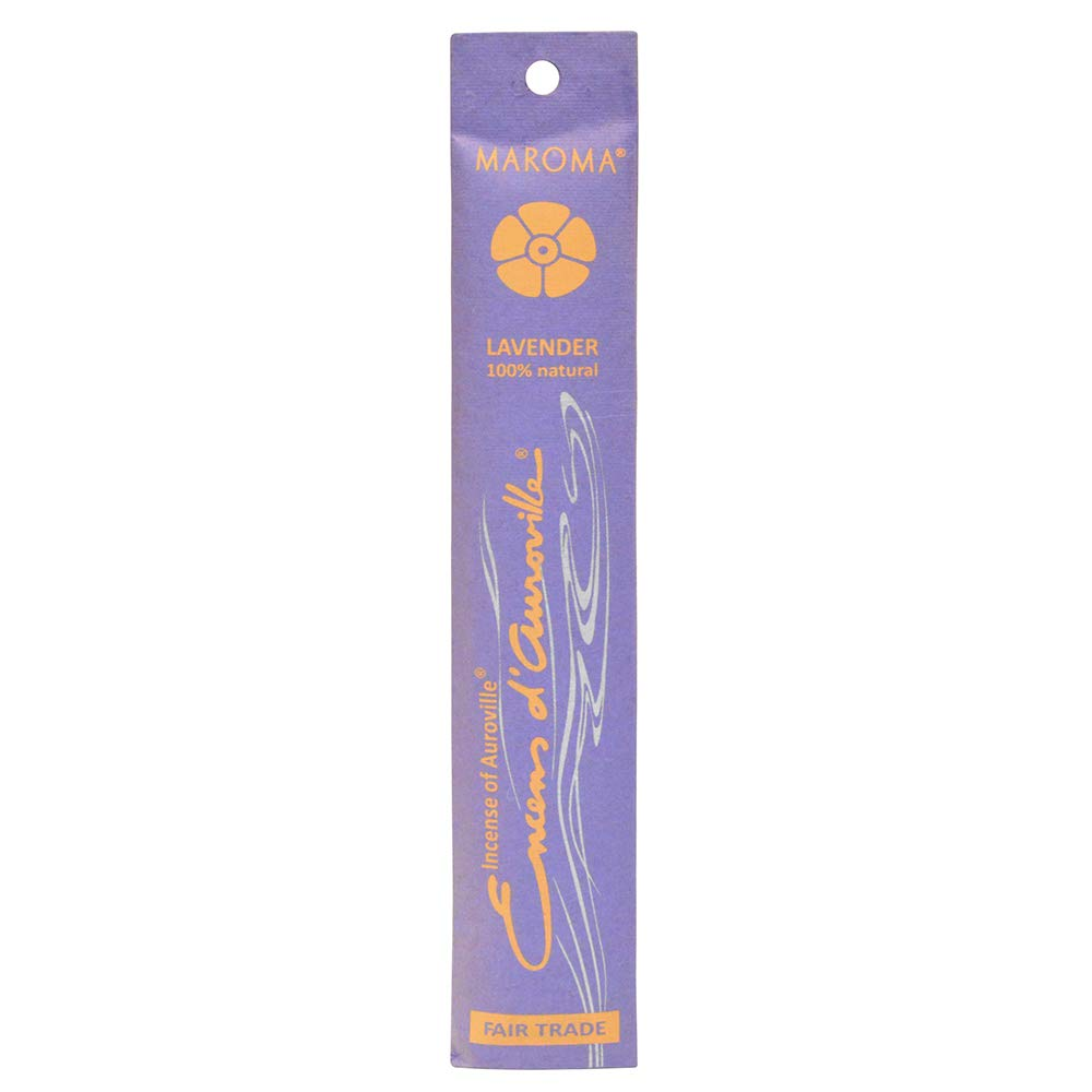 Maroma EDA Incense, Lavender, 10 Count