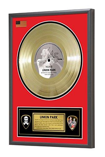 Linkin Park Numb Meteora Framed Gold Disc Display Vinyl (45rpm)