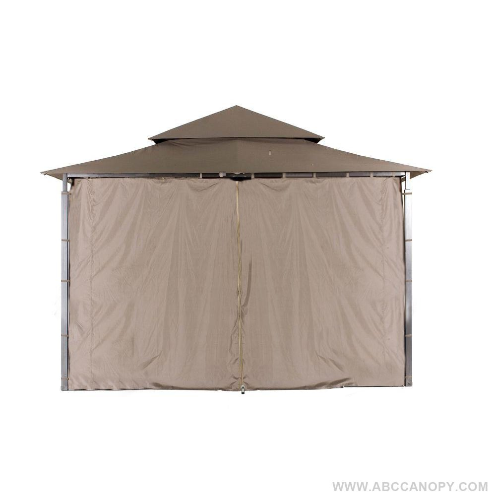 ABCCANOPY Replacement Gazebo Privacy wall for Target Madaga Gazebo (Brown)