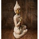 一品工芸 大日如来 仏教の開祖 釈迦 陶製製 8CM