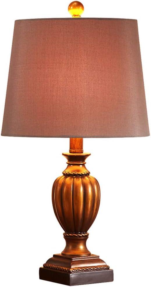 Lampe de table de style européen chambre lampe de chevet