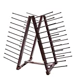 Arts & Crafts : Creative Mark Rue Art Drying Rack, Perfect For Artist Canvas Panels, Paper, Prints, Ladder Style Storage Rack- Mahogany Finish