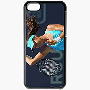 Personalized iPhone 5C Cell phone Case/Cover Skin Ana Ivanovic Black