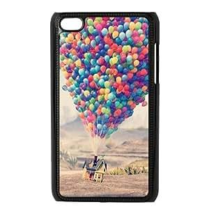 XiFu*MeiLZHCASE Diy Phone Case Balloon For Ipod Touch 4 [Pattern-1]XiFu*Mei