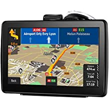 [Patrocinado] GPS Navigation for Cars, 7-inch HD Touch Screen, Built-in 8GB Real Voice Turn Alarm, Satellite Navigation, Free Lifetime map