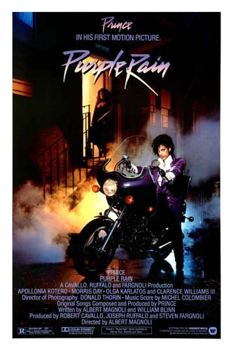 Purple Rain Movie Poster Prince #01 24x36in by Posters