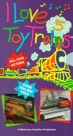 I Love Toy Trains 5 [VHS] - Love Toy Trains Store