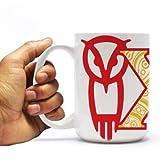 Chi Omega 15oz Coffee Mug %2596 Paisley