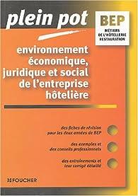 Environnement économique, juridique et social de l'entreprise hôtelière par Rémi Leurion