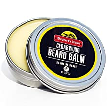 Shepherd's Choice Beard Balm All Natural Conditioner with Jojoba Oil and Cedarwood Scent (60 Grams)