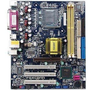Foxconn 848P7MB-S Intel 848P Socket 775 mATX Motherboard w/ Sound & - Motherboard Audio Foxconn