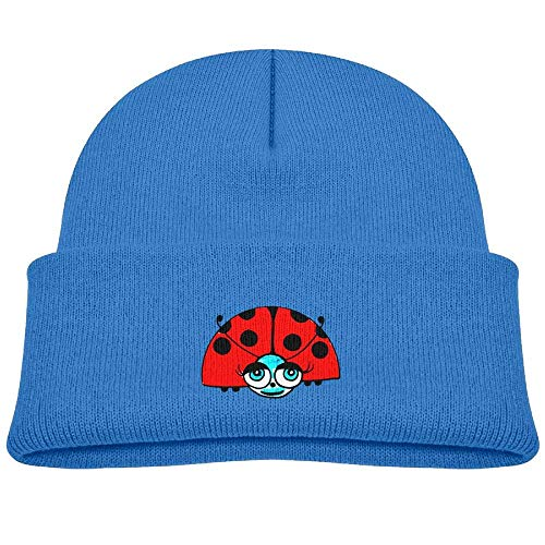 Cute Watercolor Ladybug Knit Hats Beanie Cap Skull Caps Trendy Boys ()