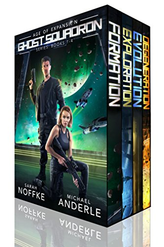 4-in-1 BOXED SET ALERT! Kill the bad guys. Save the galaxy. All in a hard day's work…Ghost Squadron Boxed Set (Books 1-4) by Sarah Noffke and Michael Anderle