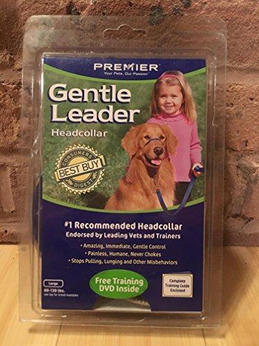 Premier Dog Quick Release GENTLE LEADER HEAD COLLAR Large Royal Blue