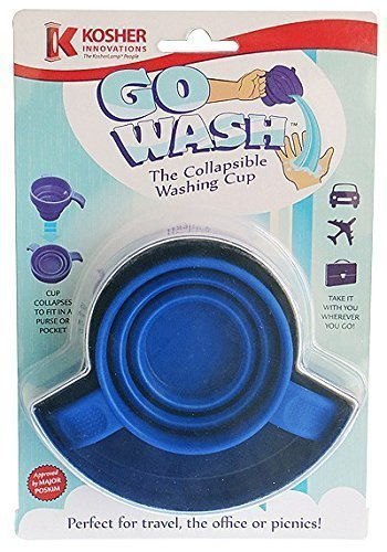 Kosher Innovations Go Wash The Collapsible Washing Cup - 1 Cup by Kosher Innovations