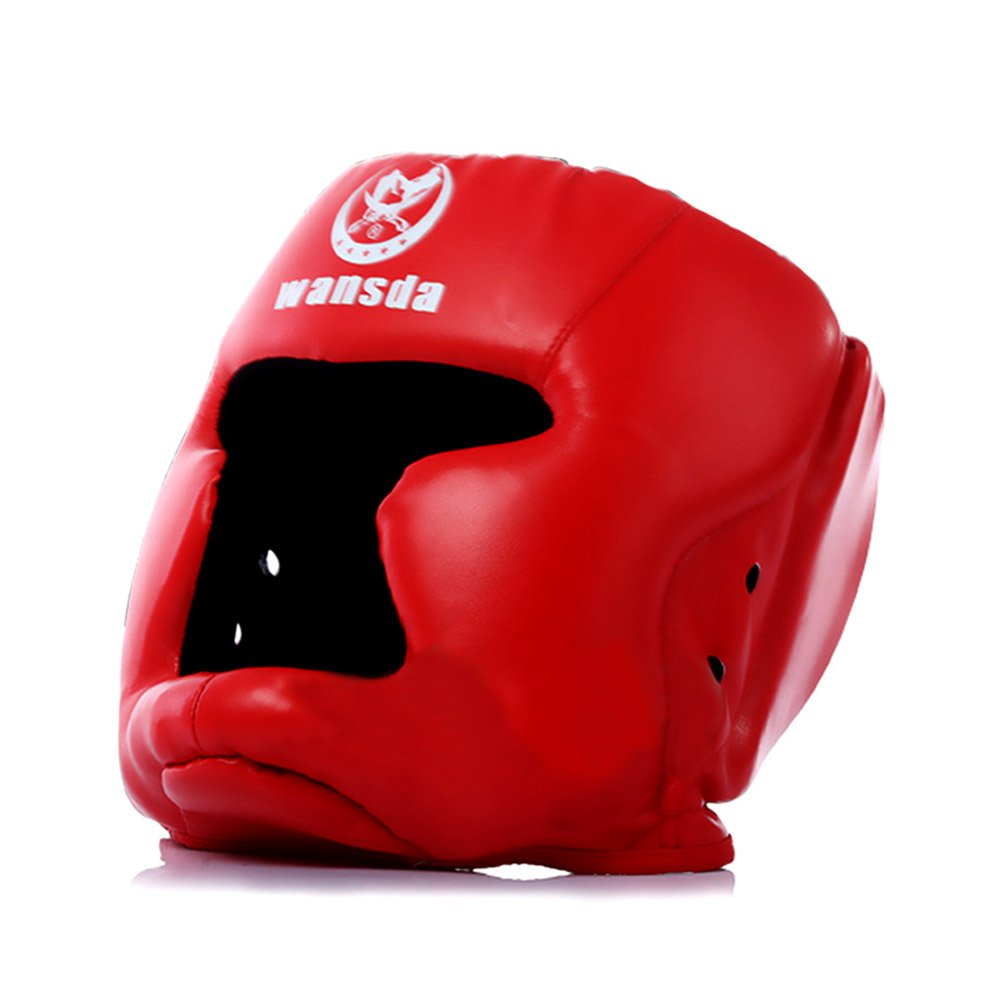 Replacement Red Boxing and Jousting Helmet and Headgear with Reinforced Seams for Interactive Inflatable Fighting Arena or Ring Games, Universal Size by TentandTable (Image #1)