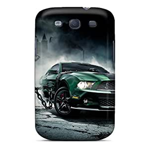 Galaxy S3 Case Cover Skin : Premium High Quality Mustang Monster Case
