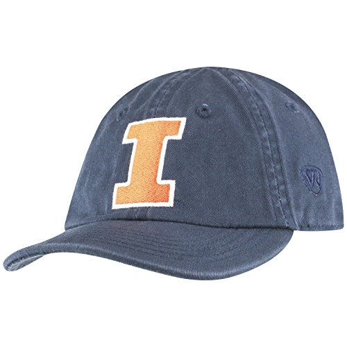 Top of the World Illinois Illini Infant Hat Icon, Navy, Adjustable