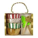 Meri Meri Stars & Trees Cupcake Kit