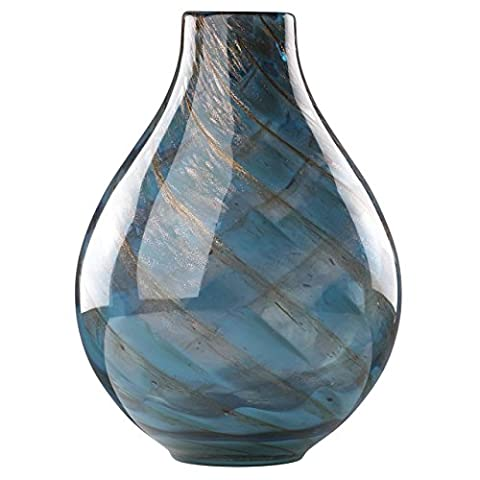 Lenox 845435 Seaview Swirl Bottle Vase - Lenox Crystal