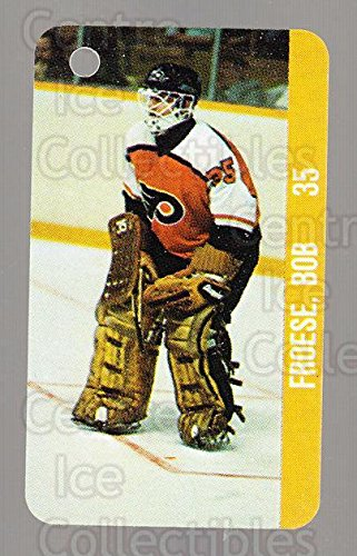 (CI) Bob Froese, NHLPA Logo Hockey Card 1983-84 NHL Key Tags 98 Bob Froese, NHLPA Logo