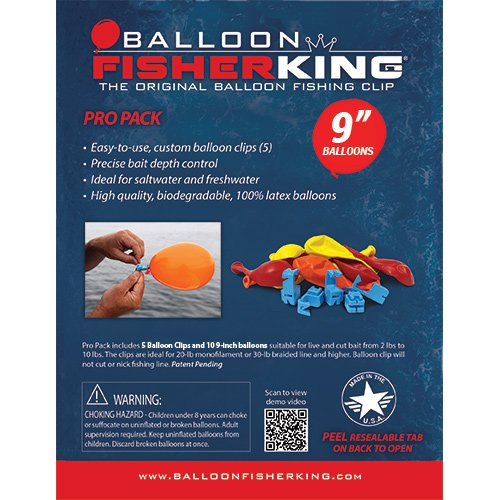 Balloon Fisher King 400 Multi-Clip Pro Pack -