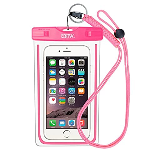 Waterproof Case Bag : EOTW Waterproof Dry Bag Pouch Pocket with Military Class Lanyard For Kayaking Swimming, Fit iPhone 5S SE 6 6S Plus, Galaxy S4 S5 S6 S7 Edge Plus, Note 5 4,LG G5 G4 G3, HTC - (Lg Nexus 5 Cases For Girls)