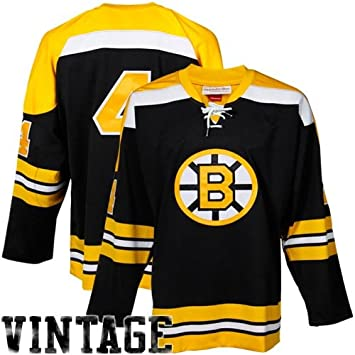 7a9209808 NHL Mitchell & Ness Bobby Orr Boston Bruins Authentic Throwback Jersey-Gold  (56): Amazon.ca: Sports & Outdoors