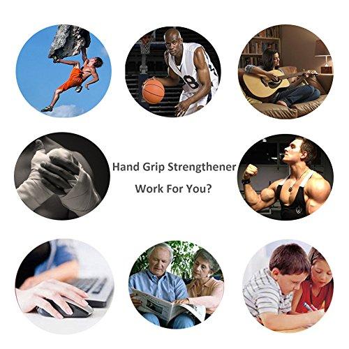 Hand Grip Strengthener Strength Trainer Adjustable Resistance 20 110 Lbs Forearm Finger Hand Exerciser Non slip Gripper For Hand Workout