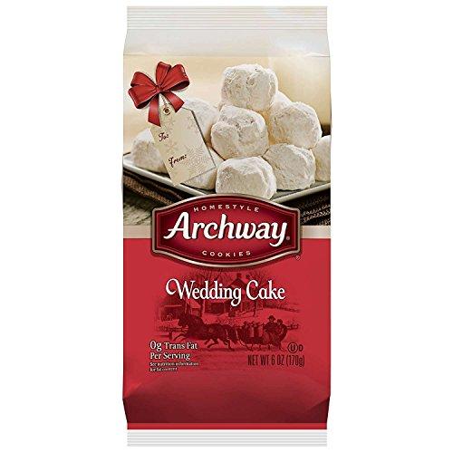 - Archway Cookies, Wedding Cake Cookies, 6 Ounce