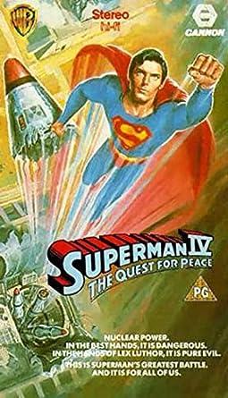 Superman 4 - Quest for peace [Alemania] [VHS]: Amazon.es ...