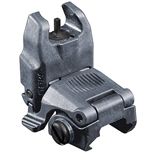 Magpul Industries MBUS Back Up Sight fits Picatinny (Front Flip Up), Gray