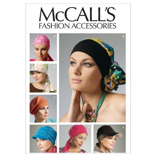 McCall's Patterns M6521 Headband, Head Wraps and Hats, All Sizes (Wrap Pattern)