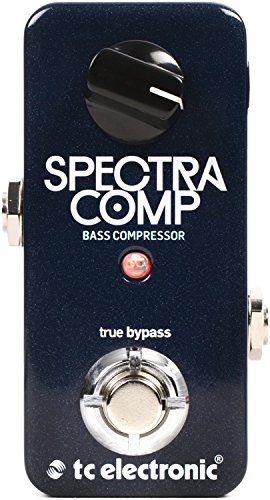 TC Electronic Bass Compression Effect Pedal (SPECTRACOMPBASSCOMPR) from TC Electronic