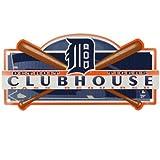 """MLB Detroit Tigers 93180231 Plastic Locker Room Sign, 8.25"""" x 19"""""""