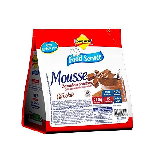 Mousse Lowçucar Zero Açúcares Chocolate 210g
