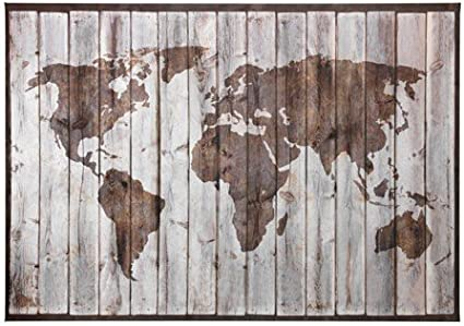Cartina Mondo Ikea.Ikea Premiar Quadro Con Telaio Driftwood Mappa 200 X 140 Cm Amazon It Casa E Cucina