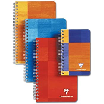 """Clairefontaine Classic Wire Bound Graph Notebook 6"""" x 8.25"""""""