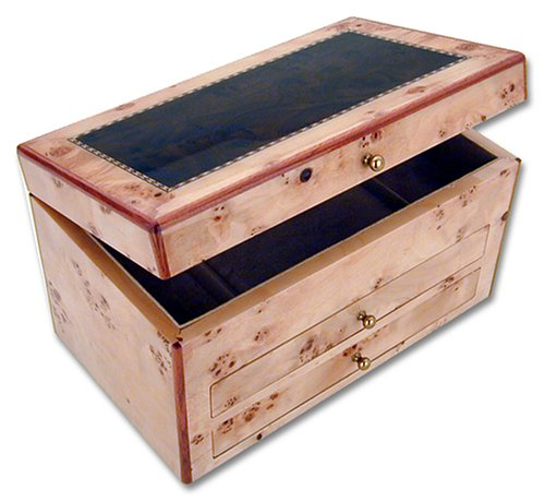 Reed & Barton Selene 963BTS Jewelry Chest by Reed & Barton