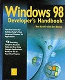 img - for Windows 98 Developer's Handbook book / textbook / text book